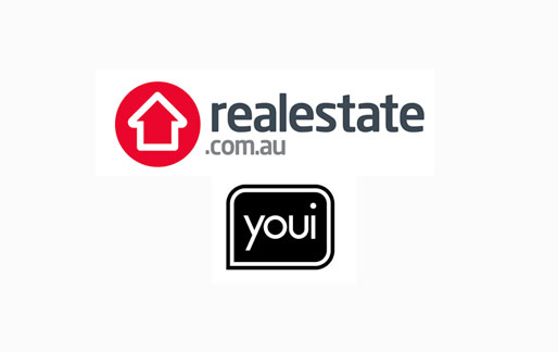 real estate and youi logo